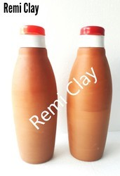 Earthern Clay Water Bottle