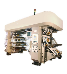 Innovative Stainless Steel High Speed Flexo Printing Machinery, For Industrial, Number Of Colors: Six Color