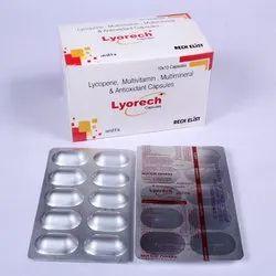lycopene multivitamin and multimineral capsules