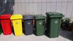 120 Liter Wheeled Garbage Bin