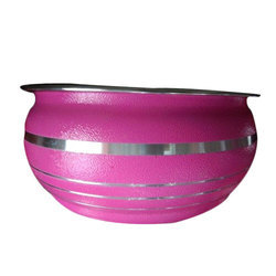 Stainless Steel Serving Bowl, Size (Centimetre): 15 Diameter