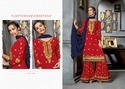 GEORGETTE EMBROIDERED SARARA SUITS