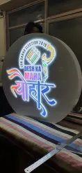 Acrylic Logo Sign Board