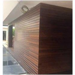 Brown Interior Exterior Wooden Cladding