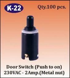 K-22 Push to ON Door Switch
