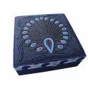 Hh Blue Handmade Jewellery Box