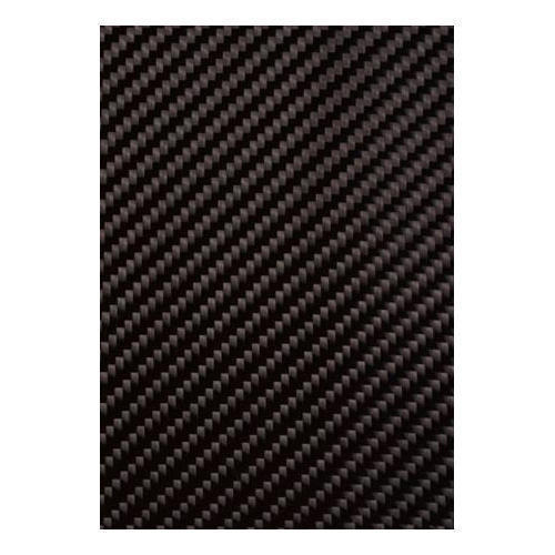 Black BhorForce Carbon Fiber Twill Fabric 3K, Packaging Type: Roll