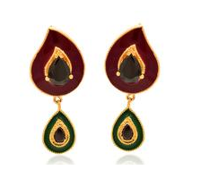 Custome Gold Earring