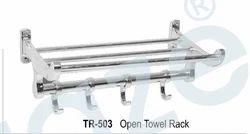 SS Open Towel Rack
