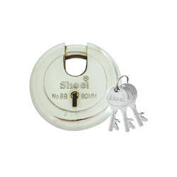 Sheel With Key No. 88 (Disc Type) Lock, Stainless Steel