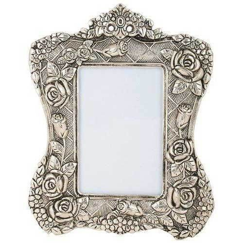 Silver Plated Photo Frame Oxidized Silver Finish at Rs 550 /piece ...