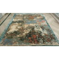 Multicolor Hand Knotted Woolen Carpets, Size: 9x12 feet