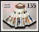 Ethnic Digital Printed Gown Fabrics