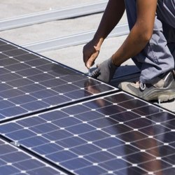 Grid Tie Rooftop Solar Panel Installation Service-Industrial / Residential