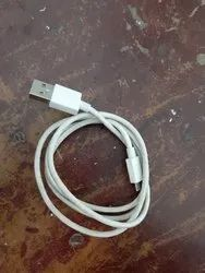 White Data Cable