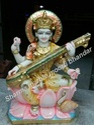 Marble Saraswati Maa Idol