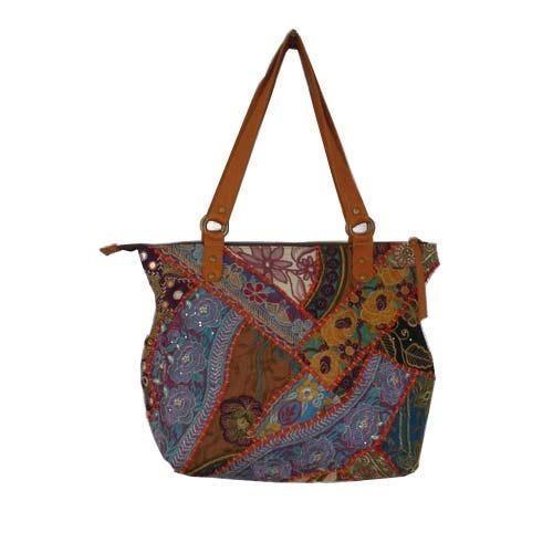 70fb8085e1d Ladies Shoulder Handbags - Banjara Bag 100% Export Oriented Unit ...