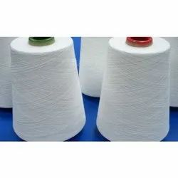 White Raw Polyester Spun Yarn for Textile Industry
