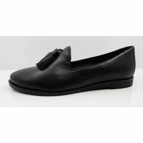 09f5635a75b2 Black Ladies Formal Shoes
