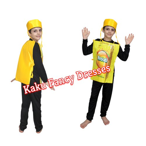 604c4d00e3 Polyester Kids Frooti Costume, Rs 600 /piece, Kaku Fancy Dresses ...