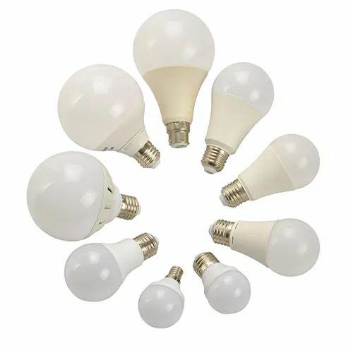 Halix Aluminium, Plastic Plastic LED Bulb Casing, Base Type: B22
