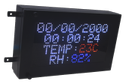 Time Date Rh Temperature LED Display