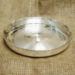 925 Silver Thali Plate