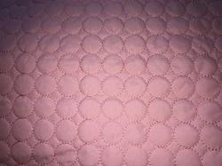 Pink Quilted Fabric-D1