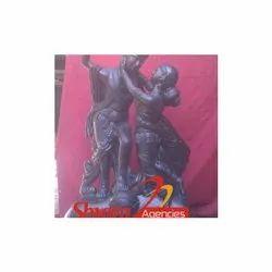 Foyer Black R K Statue