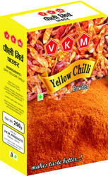 VKM Yellow Chilli, 250g, Packaging: Packet
