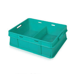 Green Dairy Crates