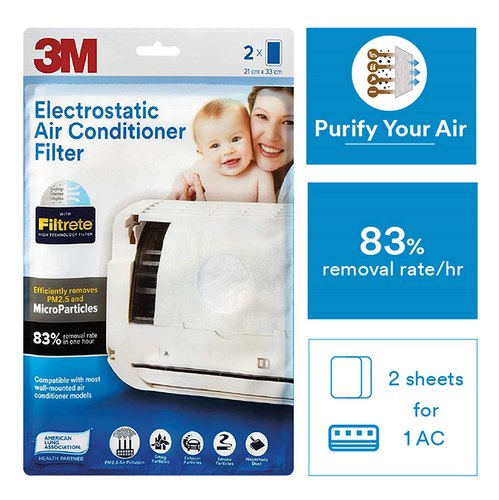 CE 3M Electrostatic Air Conditioner Filter
