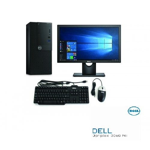 Dell 3060 Mt Desktop Intel Core I3 8100/4 Gb/1 Tb/ubuntu/19 5