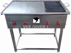 Commercial Stainless Steel Chapati Puffer