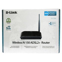D Link Wireless N 150 ADSL2 Plus Router