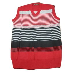 Men Woolen Sleeveless Sweater