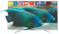 Wellcon Android 7.0/6.1 75 inch Smart 4K LED TV