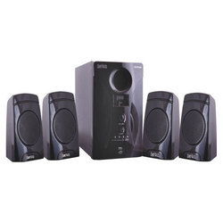 OSSYWUD Black OS 4.1 410 MUF Multimedia Speaker, 20w + 5w * 4 Rms