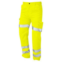 28-52 Inch Yellow And Orange Deluxe Hi Vis Condor Cargo Trouser