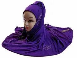 Women Stylish 2 Way Hosiery Cotton Scarf Hijab
