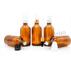 100 Ml Dropper Glass Bottle Family