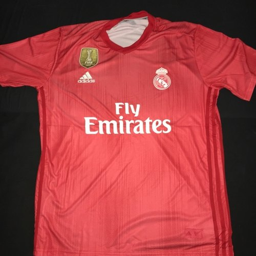 b74d2e26c Red KD 2018 19 Real Madrid 3rd Kit