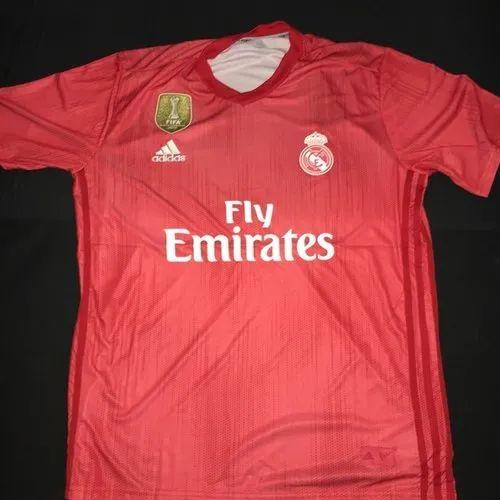 b681545bc86 Red KD 2018 19 Real Madrid 3rd Kit