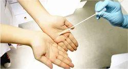 Hand Swab Testing