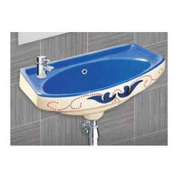 Tarryware Wall Mounted Ceramic Wash Basin, For Home