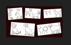 Hobitute Draw Animals Using Basic Shapes- Different Breeds Of Dogs