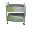 Stainless Steel Green Soiled Dish Trolleys