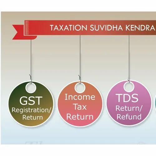 GST, ITR and TDS Service Center or Agency in India