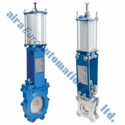 Pneumatic Cylinder Knife Edge Gate Valve
