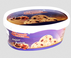 Anjeer Badam Ice-Cream, Packaging Type: Box